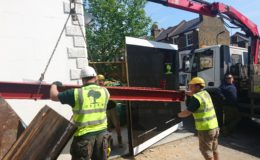 Steel Structure delivery London
