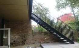 External Metal Stairs
