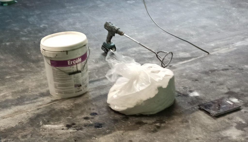 Ercole - base layer cementitious overlay