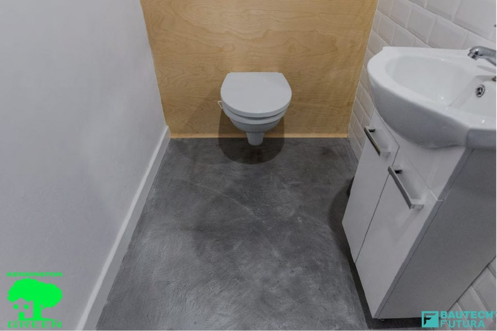 Underfloor Heating With Microcement Polished Concrete Floor