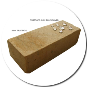 Brickcover - Invisible water-repellent for Brick protection